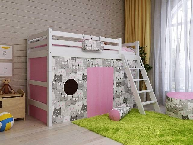 Детская кровать Отто NEW-6 (Райтон)