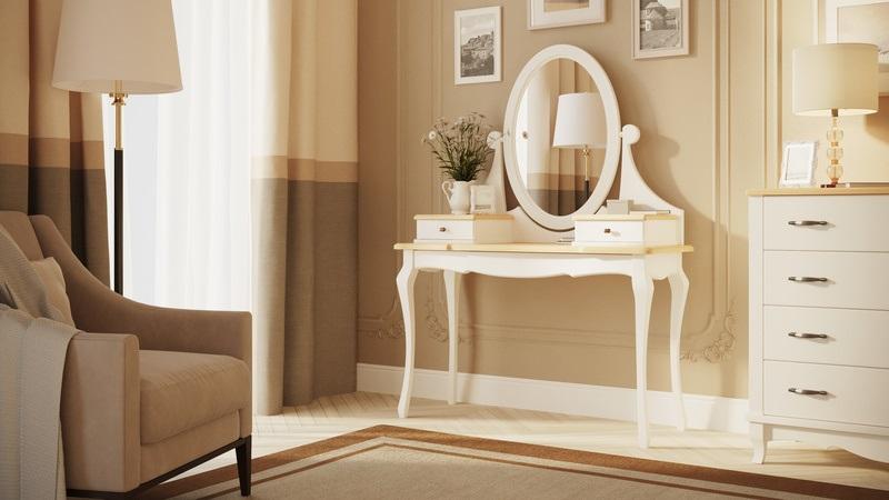Туалетный стол Provence массив бук (Райтон)