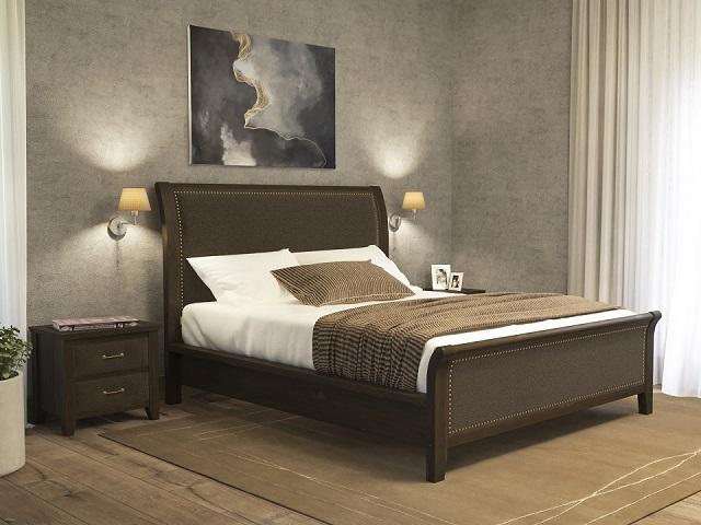 Комбинированная кровать Dublin двуспальная (с подъемным механизмом) массив сосна (Райтон)