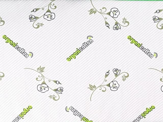 Съемный чехол на матрас Organic Cotton, молния 3/4 (Lonax)