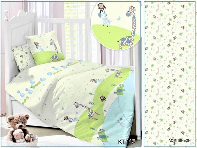 Детское постельное белье Orient Bebo 2 (Ориент Бебо 2) (Promtex-Orient)