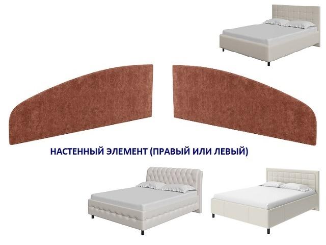 Настенный элемент к кроватям Como/Veda правый или левый (Орматек)