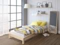 Кровать Happy (Хэппи) (с основанием) массив сосна (Райтон)
