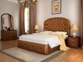 Кровать Венеция с подъемным механизмом (Экокожа) (Лонакс)
