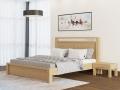 Кровать Fiord (с основанием) массив сосна (Райтон)