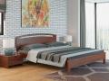 Кровать Веста 1-тахта-R (с основанием) массив сосна (Райтон)