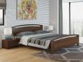Кровать Веста 1-R (с основанием) массив сосна (Райтон)