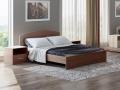 Кровать Этюд со встроенным основанием (Орматек)